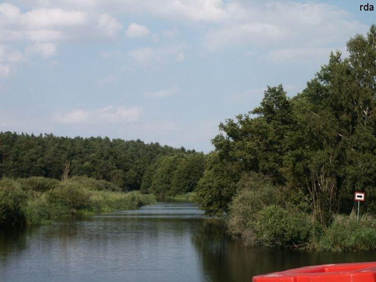 Richtung Kumerower See
